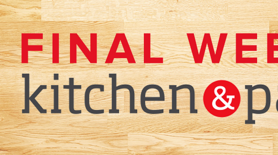 kitchen & pantry 15% OFF*