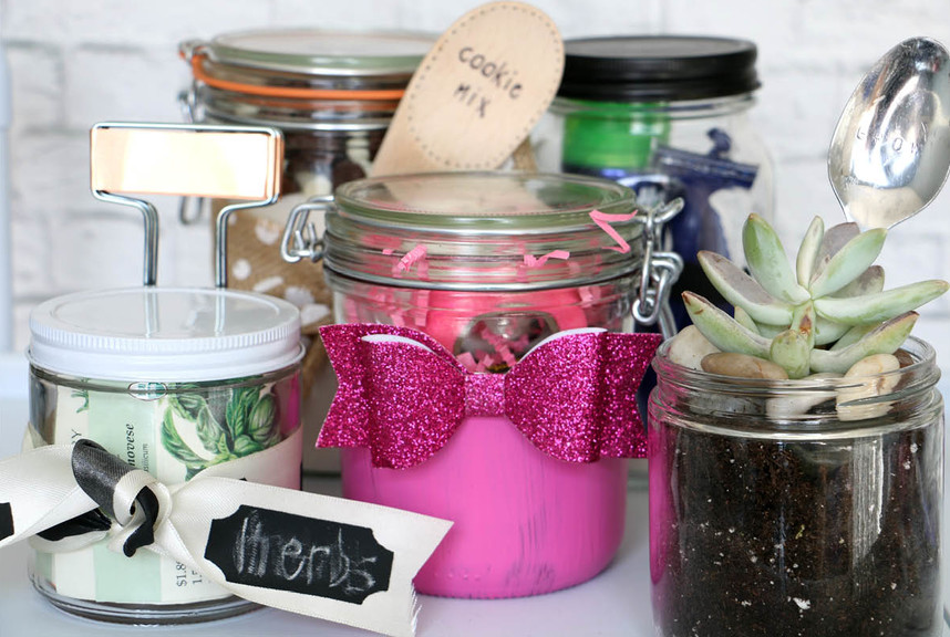 null & 5 Ways to Gift this Christmas with Mason Jars | Container Stories