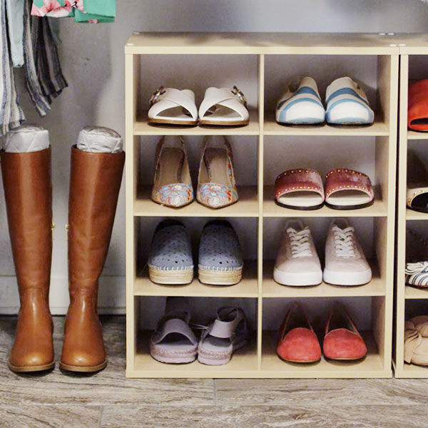 Step 3 Select Your Organizers On The Closet Floor