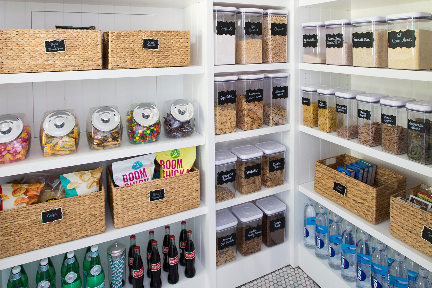 Kitchen Cabinet Pantries 5 Steps To An Organized Pantry With Neat Method And The