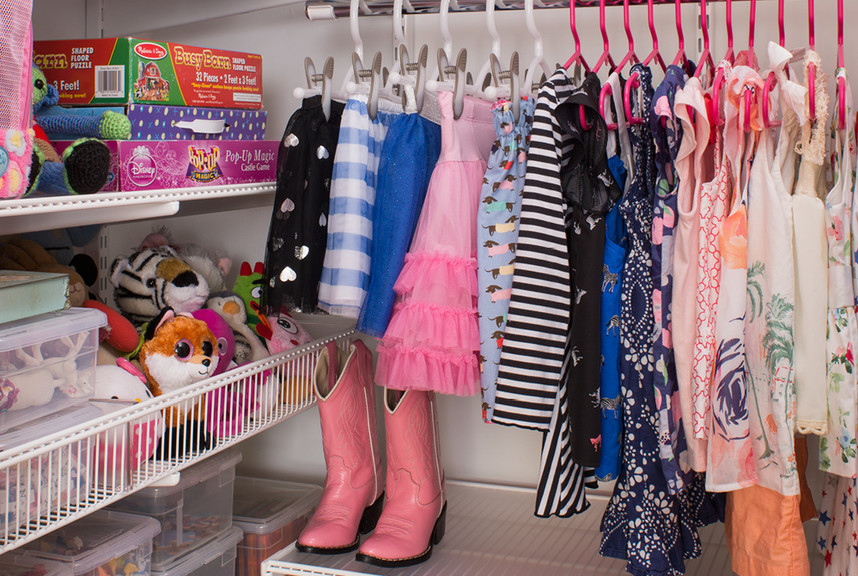 Kids Closet Renovation The Container Store