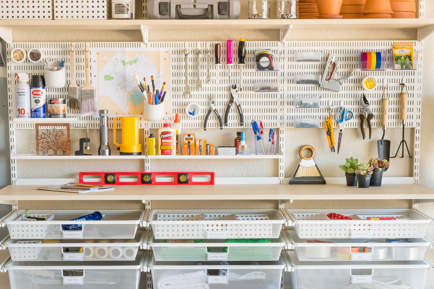 A Single Girl S Guide To Garage Organization Container