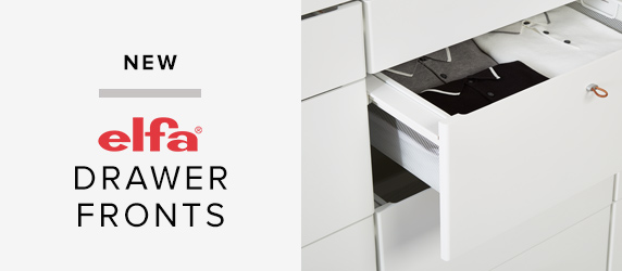 NEW elfa Drawer Fronts