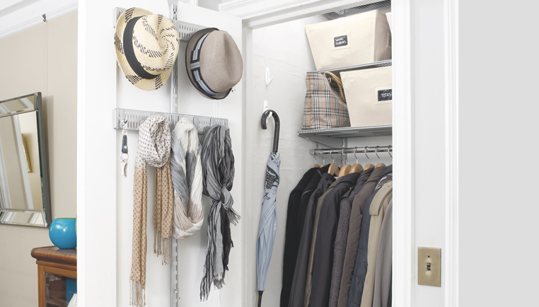 Hall Closet Organization Ideas How To Organize A Hall