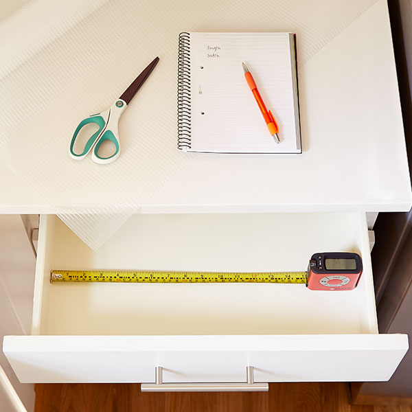 Step 2: Measure & Line Your Drawer