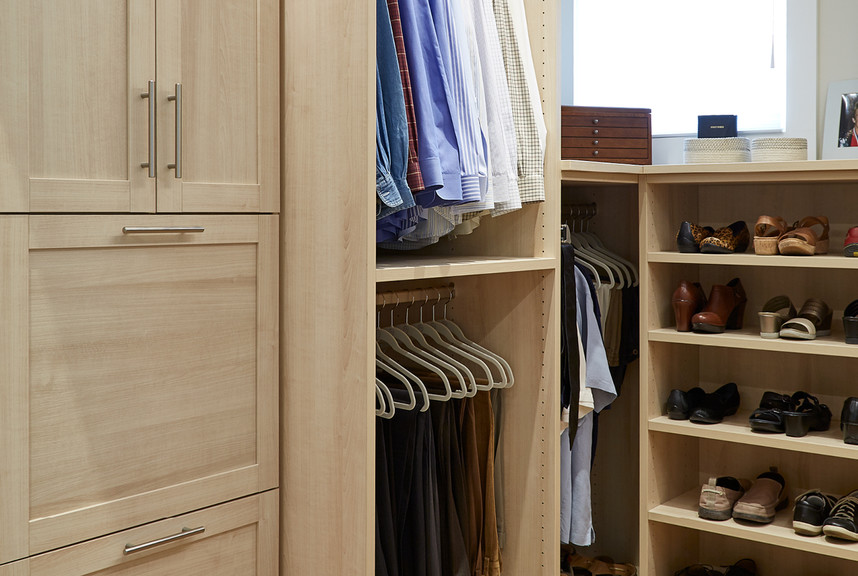 A New TCS Closet For A Historic Home Restoration