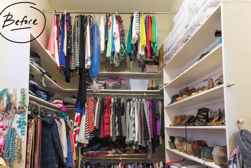 Hi Sugarplum Blogger, Cassie Freeman, And Her Husband, John, Were Tired Of  Dealing With A Maxed Out Master Closet. As A Fashion Blogger, Cassieu0027s  Passion ...