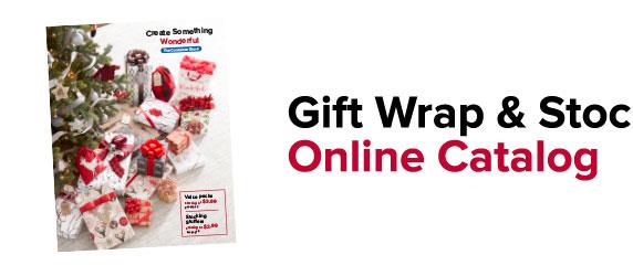 Gift Wrap & Stocking Stuffers Online Catalog