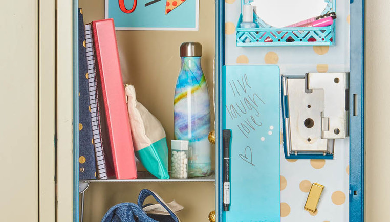 Locker Decoration & Organization Ideas - How To Organize Your Locker ...