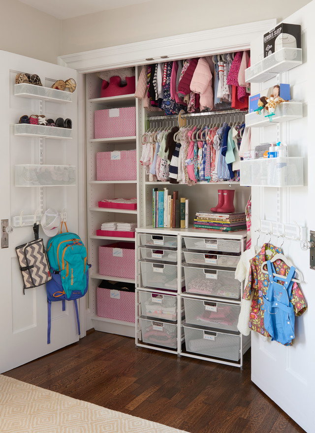 Nursery ideas a beautiful room for baby mcbreen for Extra closet storage