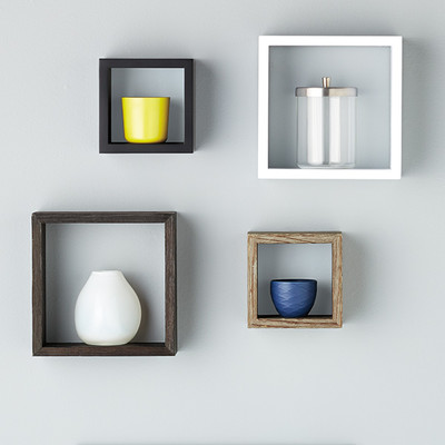 WALL-MOUNTED SHELVING