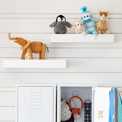 Floating and Wall-Mounted Shelving