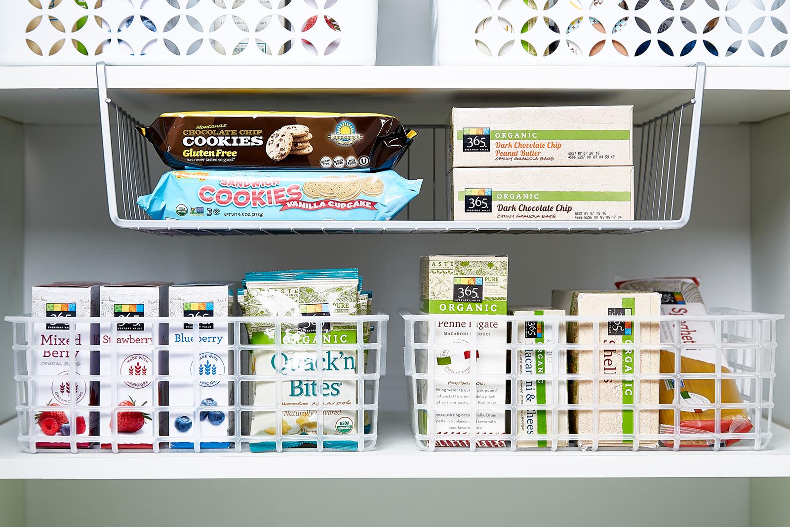 Under Shelf Baskets - Undershelf Baskets | The Container Store