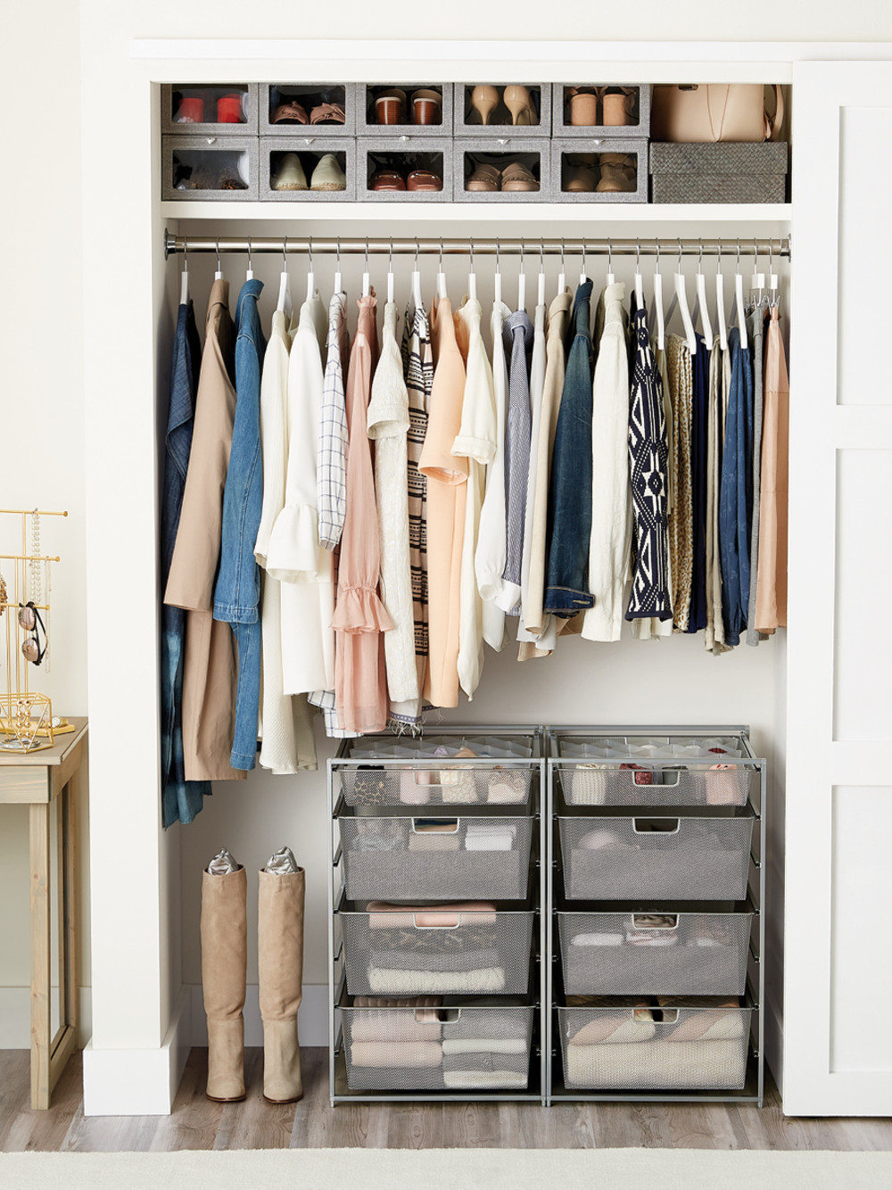 Shop: Small Closet With Drawers