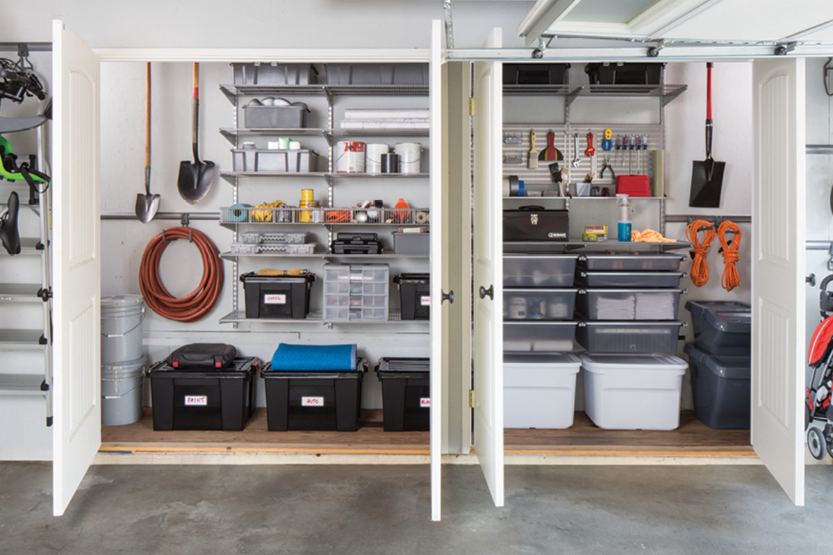 Garage Makeover For Kids