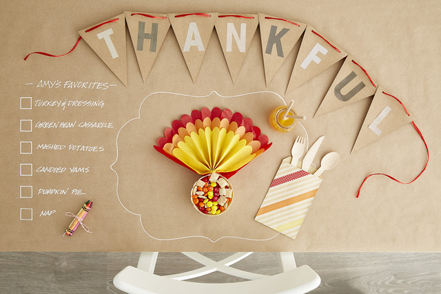 How-To: Setting a Thanksgiving Table the Kids Will Love | Container ...