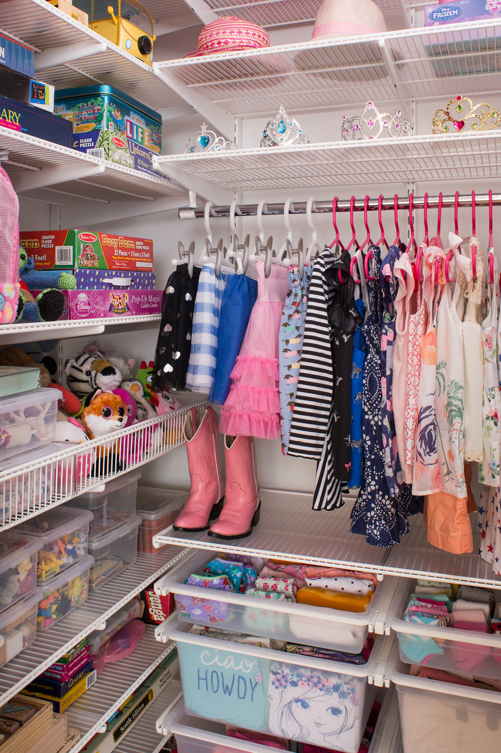 A Custom Closet Fit For Princess Container Stories