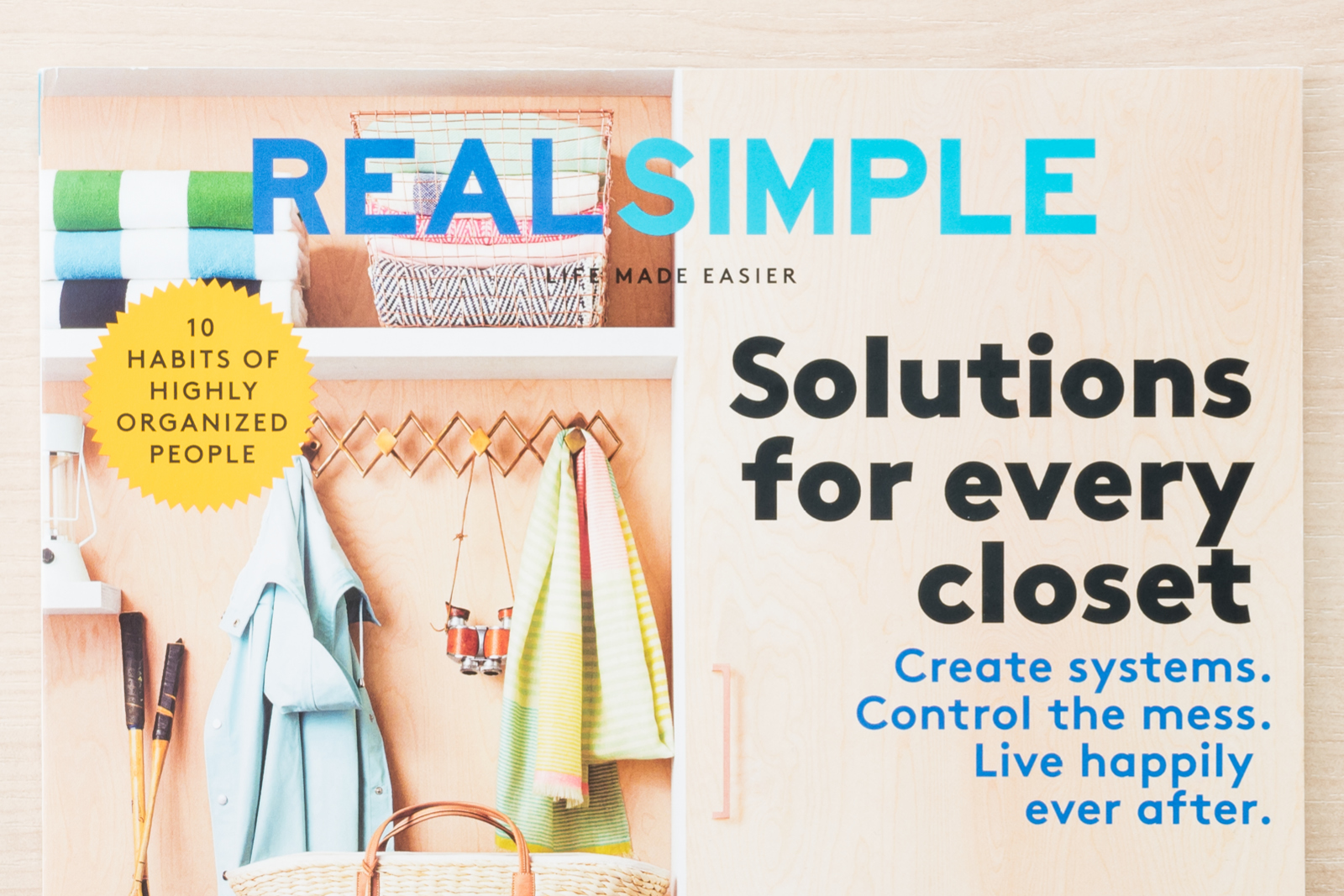 Real Simple Magazine Gets Really Organized Container Stories
